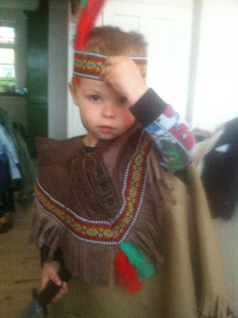 Cowboy temadag i børnehaven