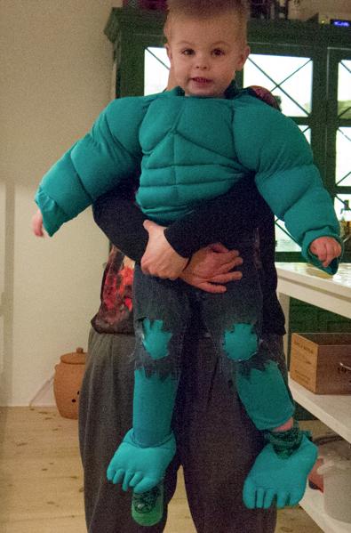 Hulk fastelavnsdragt