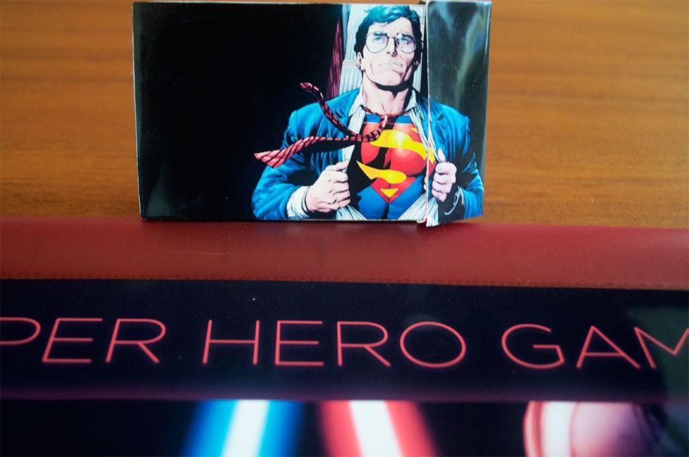 Super hero brikker i kasse (Af Majken Grønborg Sørensen)