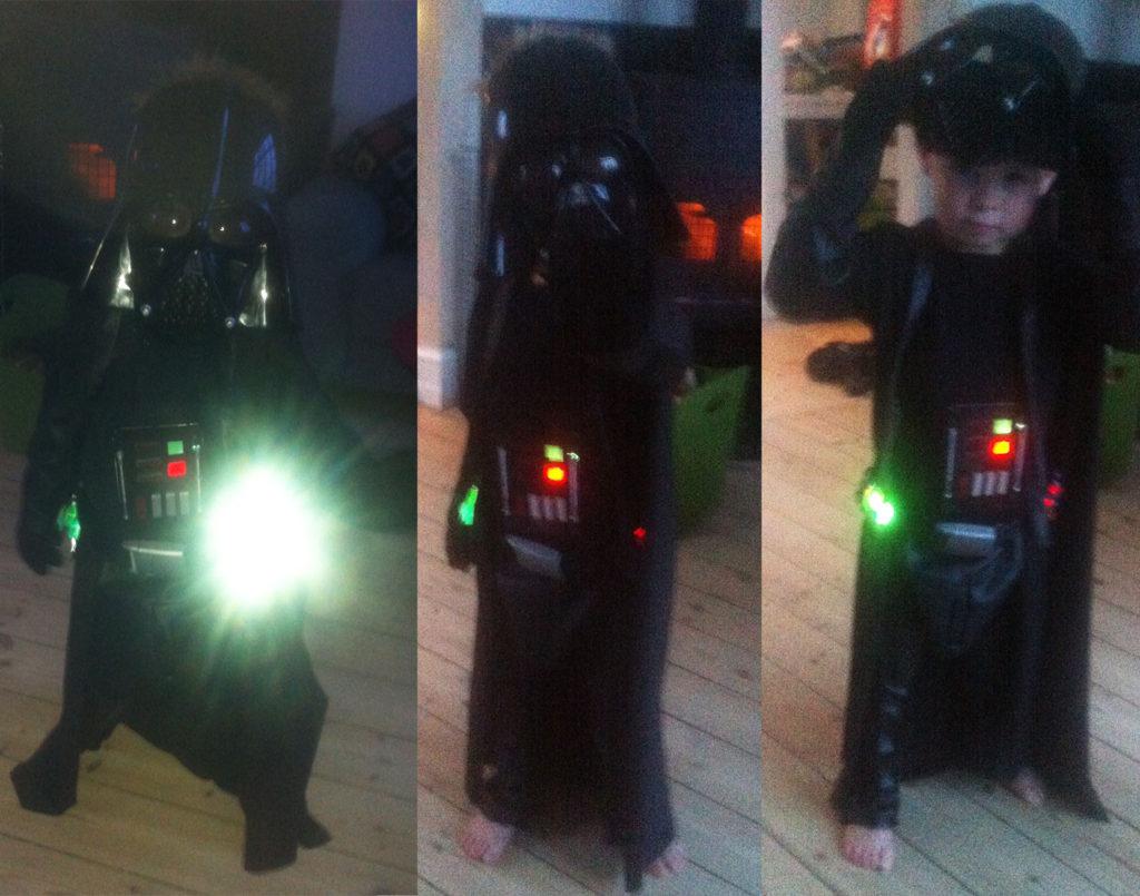 Darth Vader fastelvnsdragt