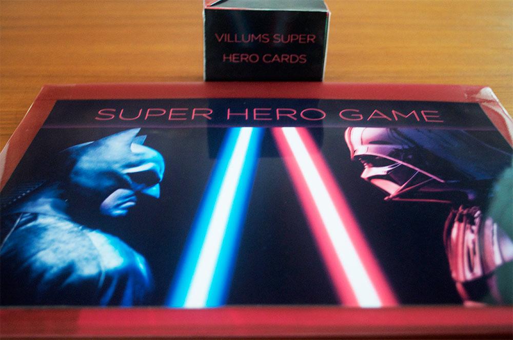 Villums super hero game diy
